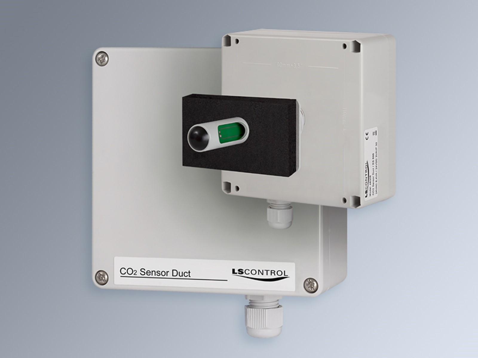 CO2+Temp. Regulate for Duct, Modbus / ES 899